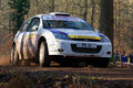 Forest Rally Stage Stock Image - 5936221