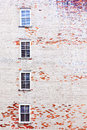 Brick Wall With Windows Stock Images - 59300444