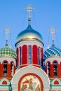 Russian Orthodox Church In Honor Of Saint George In The Kaluga Region (Russia). Royalty Free Stock Image - 59310566