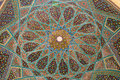 Tomb Of Hafez Ceiling Royalty Free Stock Photography - 59328487