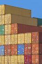 Cargo Containers Royalty Free Stock Image - 59328676