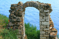 Stone  Ancient Arch Royalty Free Stock Photo - 59340385