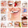 Dental Care Collage (Dental Services) Royalty Free Stock Photo - 59341985