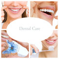 Dental Care Collage (dental Services) Royalty Free Stock Images - 59342099