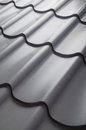 Close Up Of Metal Roof Tile Stock Photography - 59385682