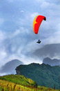 Paragliding Stock Image - 59407521