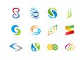 Letter S Logo, Abstract Element Concept Company Logos, Business Logo Symbol Icon Vector Design Stock Photos - 59456283