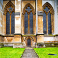 Rose Window Weinstmister     Abbey In London Old Church Door And Ma Stock Images - 59497514