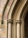 Historic Church Arch Detail Royalty Free Stock Image - 5954246