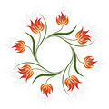 Vector Floral Swirl Stock Photography - 5958412
