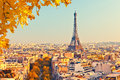 View On Eiffel Tower At Sunset Royalty Free Stock Image - 59521976