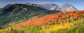 Panoramic Landscape In The Utah Mountains. Royalty Free Stock Photo - 59524755
