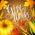 Thanksgiving Card Wicker Basket Background. Vector Royalty Free Stock Photo - 59547055