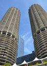 Marina City Towers Royalty Free Stock Image - 59573606