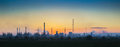 Industrial Landscape At Sunset Royalty Free Stock Photos - 59577668