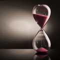 Sand Hourglass Royalty Free Stock Images - 59580839