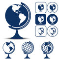 Earth Planet Globe Vector Illustration Stock Image - 59586801