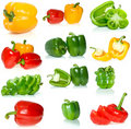 Set Of Different Sweet Peppers Stock Image - 5964691