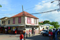Falmouth Downtown, Jamaica Royalty Free Stock Photography - 59614087