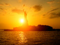 The Statue Of Liberty At Sunset Stock Photo - 59619190