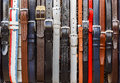 Belts Hanging On The Wall In The Store Royalty Free Stock Photos - 59630288