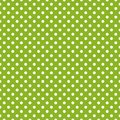 Tile Vector Pattern With White Polka Dots On Green Background Royalty Free Stock Photos - 59631448