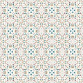Colorful Abstract Geometrical Objects On A White Background Seamless Pattern Vector Illustration Royalty Free Stock Photos - 59661058