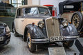 DRESDEN, GERMANY - MAI 2015: IFA F8 Cabrio Audi 1955 In Dresden Stock Photo - 59673140
