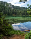 Mountain Lake In The Summer Royalty Free Stock Images - 59693029