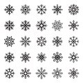 Snowflake Vector Symbol Graphic Crystal Frozen Decoration For Design  From The Background Stock Image - 59717941