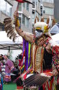 Pow-wow Dancer Of The Plains Tribes Of Canada Royalty Free Stock Photography - 59728037