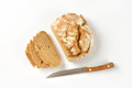 Sliced Bread And Knife Royalty Free Stock Photography - 59728527