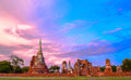 Wat Mahathat (Temple Of The Great Relics) Royalty Free Stock Photos - 59749358