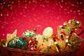 New Year 2016. Merry Christmas. Party Decoration Royalty Free Stock Photo - 59752965