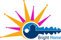 Bright Home Logo Stock Photography - 59772742