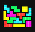Tetris Game Royalty Free Stock Image - 59777036