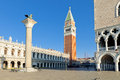 The St. Mark S Square With Campanile And Doge S Palace Stock Photography - 59783392