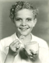 Boy Eating Ice Cream Royalty Free Stock Images - 59793309
