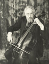 Double Bassist Royalty Free Stock Image - 59795106
