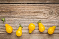 Yellow Pear Tomato Royalty Free Stock Images - 59795579