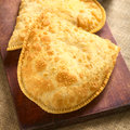 Bolivian Pastel, A Deep-Fried Pastry Royalty Free Stock Images - 59798819