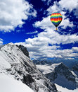 Snow Mountains In Switzerland Royalty Free Stock Image - 5985416