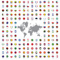 World Flags All Royalty Free Stock Photography - 59817597