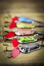 Mixed Fishing Lure Royalty Free Stock Photos - 59826708