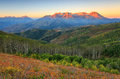 Autumn Sunrise In The Wasatch Mountains. Royalty Free Stock Image - 59854496