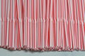 White And Pink Drink Straw Royalty Free Stock Image - 59867846