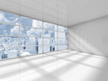 Abstract White Interior Of An Empty Office Room Royalty Free Stock Photo - 59884625