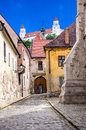 White Towers Of Bratislava Castle Royalty Free Stock Image - 59915246