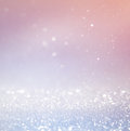 Bokeh Lights Background With Multi Layers And Colors Of White Silver And Blue. Stock Photos - 59922753