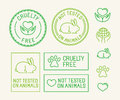 Vector Set Of Ecology Badges And Stamps For Packaging Royalty Free Stock Photo - 59933815